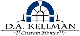 D. A. Kellman Custom Homes Logo